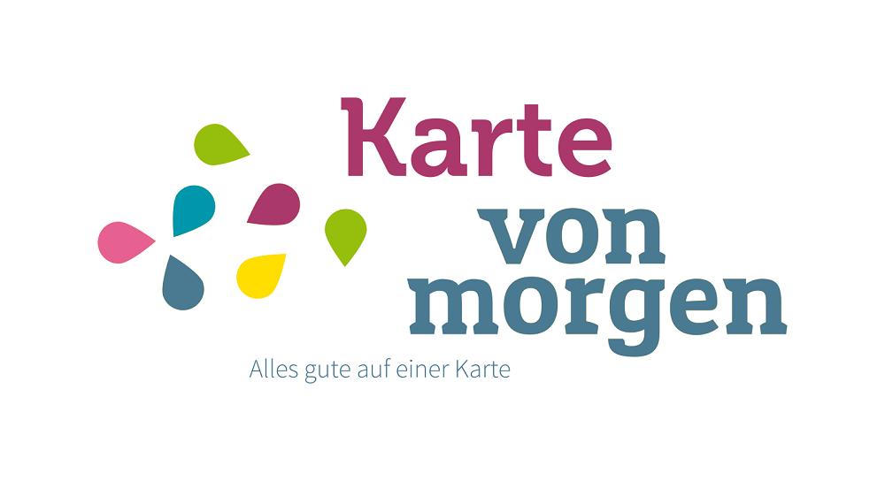 Logo Karte von morgen. Bildrechte bei Helmut Wolman