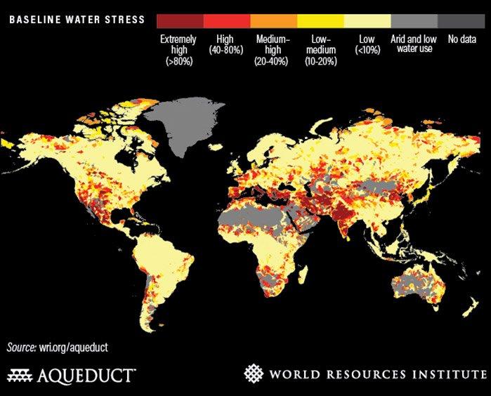 EineWeltBlaBla Wasserstress © World Resources Institute (WRI)