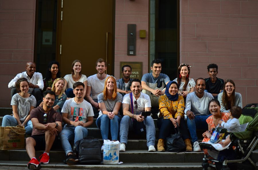 Gruppenphoto von academic experience worldwide