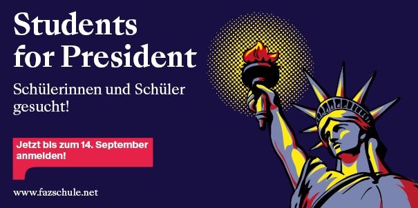 Logo des Wettbewerbs Students For President